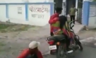 Video: Man forced to carry mother's dead body on bike for post-mortem