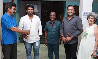 'Magalir Mattum' Team at 15th Chennai International Film Festival