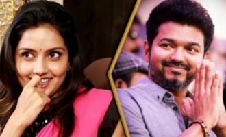 Vijay I'm Waiting : Mahima Nambiar Cute Imitation