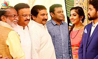 Singer Mano Daughter Sofia Marriage Reception