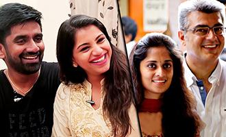 Shalini's ringtone is my song : Music Director Dharan, Actress Deekshitha Interview | Thala Ajith
