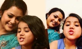 'Theri' baby Nainikka fulfills Meena's long time dream