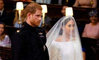 Prince harry marries Meghan Markle in a royal wedding