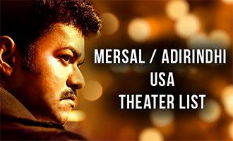Mersal  USA Theater List