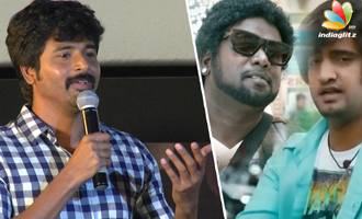 Sivakarthikeyan on college days with Arunraja Kamaraj