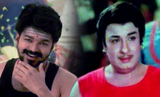 Thalapathy does a Puratchi Thalaivar in 'Mersal' opening scene?