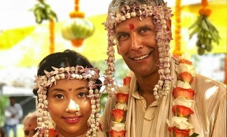 Milind Soman marries Ankita in a dreamy wedding, see pics