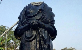 CRPF jawan arrested for vandalising Periyar statue