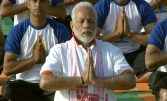 Aged woman dies after participation in PM Modi's International Yoga Day event