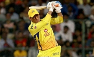 Sky high praise for MS Dhoni's thunderous innings!