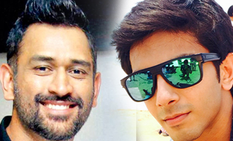 Anirudh and Dhoni's touching gesture towards Chennai boy and girl