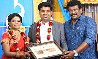 Director Nalan Kumarasamy - Saranya Wedding Reception