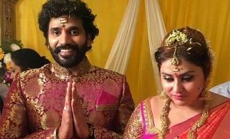 Namitha gets married