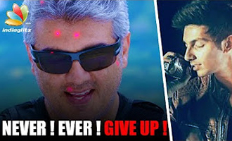 'Never Ever Give Up' theme song in Ajith's Vivegam