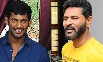 Ondikkatta Team Meet Vishal and Prabhu Deva