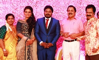 Actor Pandiarajan's Son Wedding Reception