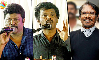 Untrained amateurs enter cinema today : Cheran