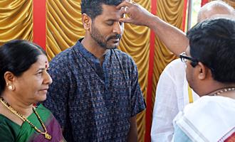 Prabhu Deva Passion Studios 'Production No 6' Movie Pooja