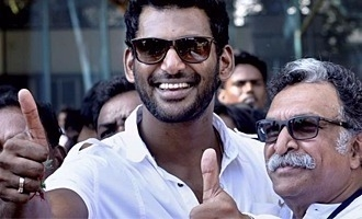 Vishal's innovative idea to curb piracy