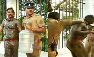 Self-immolation bid by 2 Theni cops thwarted at DGP's office