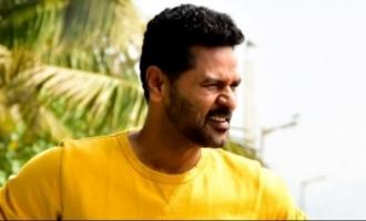 Prabhu Deva's cop film title announced!