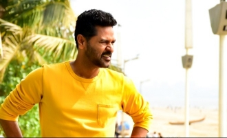 First time in Prabhudeva's 25 year long career