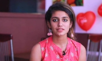 Priya Prakash Varrier's message following Supreme Court's decision