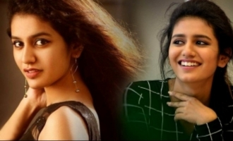 Cell phone not allowed for Priya Prakash Varrier!