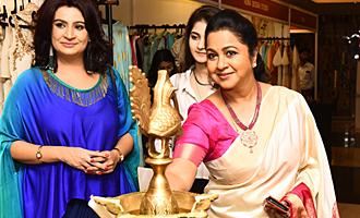 Radhika Sarathkumar inaugurates The Vimonisha Mega Style Souk 2017