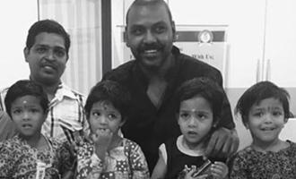 ஒரே பிரசவத்தில் பிறந்த 4 குழந்தைகளை தத்தெடுத்தார் ராகவா லாரன்ஸ்