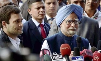 Manmohan terms as 'historical event' Rahul taking over as Congress president