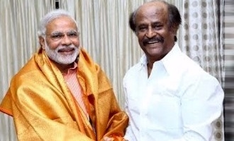 Superstar Rajinikanth extends full support to Narendra Modi
