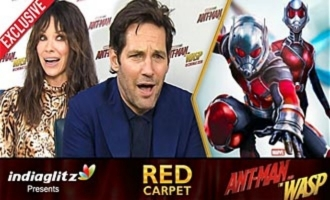 ANT-MAN has Deep EMOTIONAL Connect for Indians : Paul Rudd , Evangeline Lilly Interview