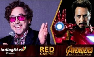 EXCLUSIVE : Robert Downey Jr. Opens up about Avengers Infinity War