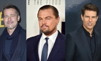 Whoa! Tom Cruise, Brad Pitt and Leonardo DiCaprio in the same movie