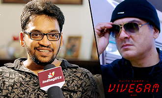 Director Siva was impressed with my Trailer Cuts : Vivegam Editor Ruben Interview on Ajith