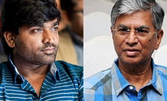 News of the Day! Vijay Sethupathi  with Thalapathy Vijay's father