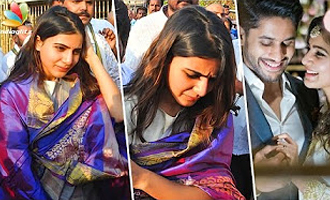 Samantha Visits Tirumala Tirupati after announcing her Wedding Date