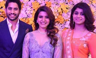Naga Chaitanya - Samantha Wedding Reception