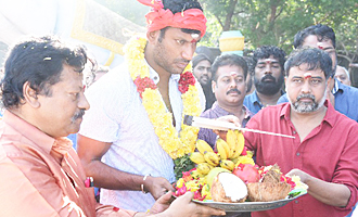 'Sandakozhi 2' Movie Pooja