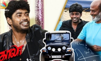 I Got the Kaala Jeep Signed by Rajinikanth : Sandy Master Interview