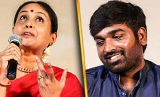 """""""A baby like face!"""" Saranya Ponvannan on Vijay Sethupathi"""