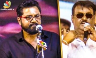 Vijayakanth : The Real Life Hero - Sarathkumar Emotional Speech