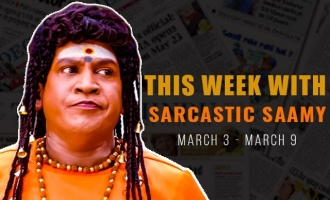 Sarcastic Samiyar : Stephen Hawking, Rajini in Himalayas,and Kollywood leave letter