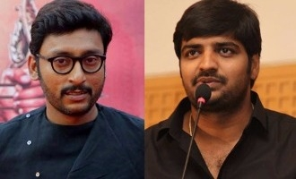 Comedians R.J. Balaji and Sathish clash