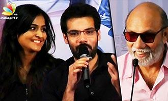 I'll do Liplock after I'm old like dad : Sibiraj Funny Speech   Sathya, Remya Nambeesan