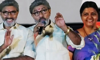 I wish a third marriage happened :Sathyaraj's funny speech during Kadaikutty Singam Music Launch