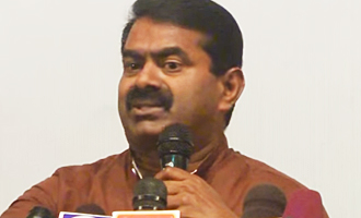 Doesn't a legend like Sivaji deserve a statue at Marina? : Seeman Latest Speech