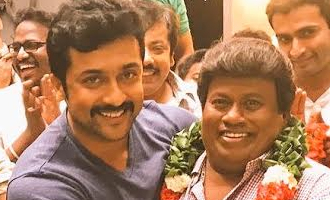 Suriya and team celebrates Senthil's birthday