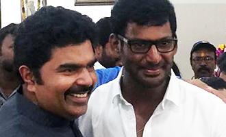 Vijay Shankar, son of late actor Jai Shankar conducted free eye camp for Nadigar Sangam members